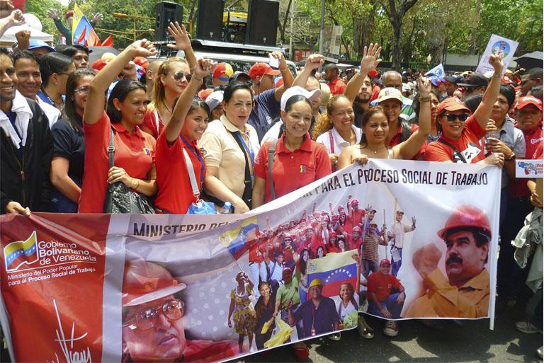 Pueblo revolucionario se movilizó por la soberanía nacional