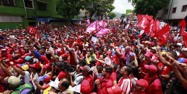 Pueblo revolucionario y obrero marchará este 1º de mayo en Caracas
