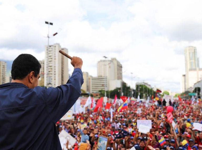 La TSS presente en la Gran Movilización por el Día del Trabajador
