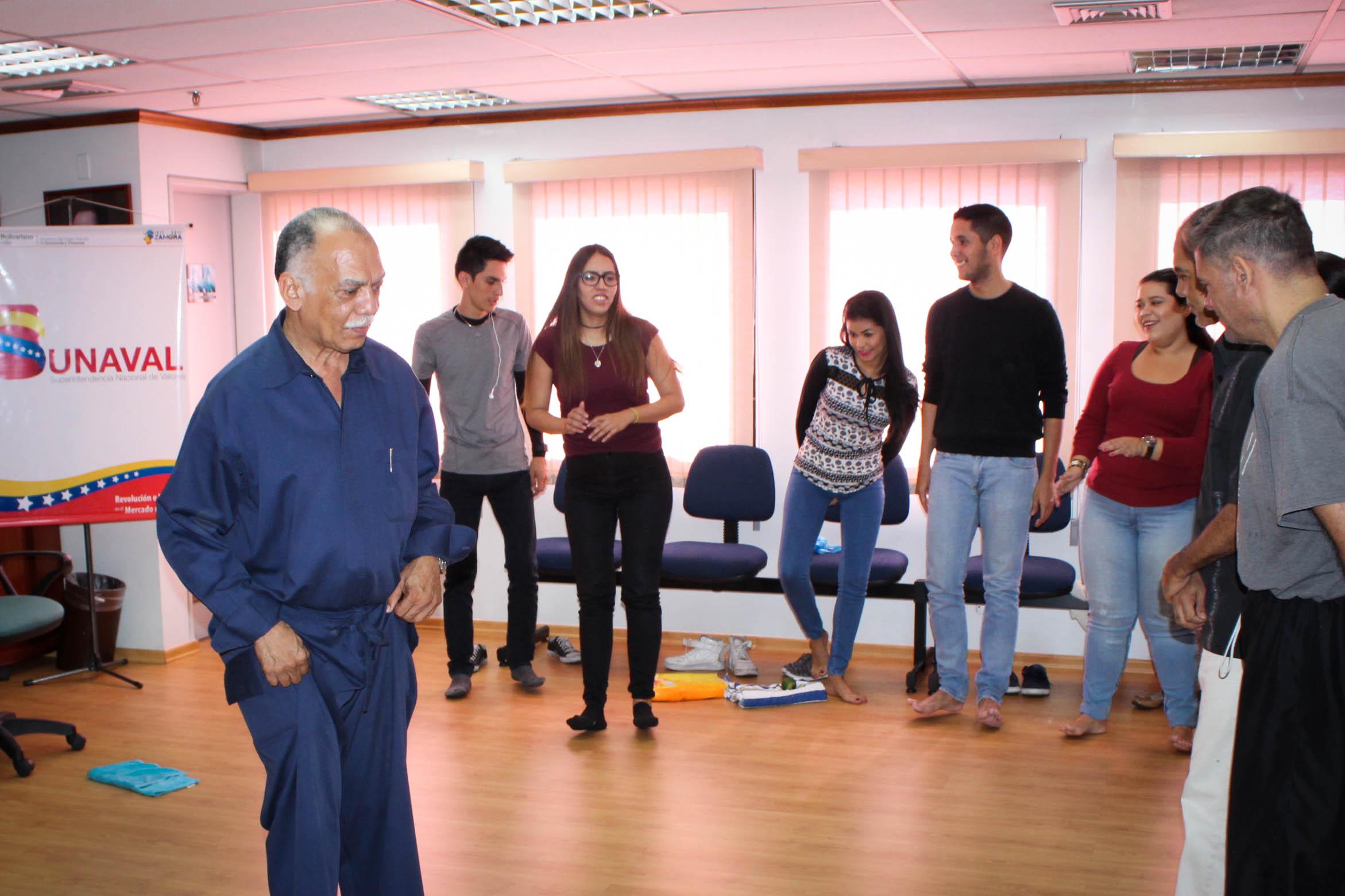 TSS presta apoyo a la SUNAVAL para la realización de taller sobre el manejo del estrés