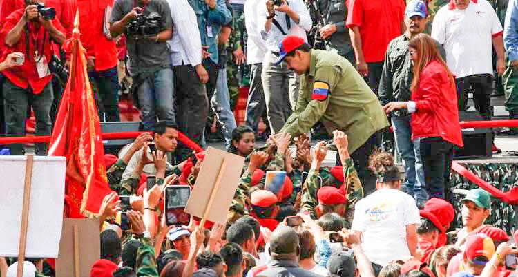Maduro: La fuerza del 4 de febrero debe estar en las calles por el futuro de Venezuela