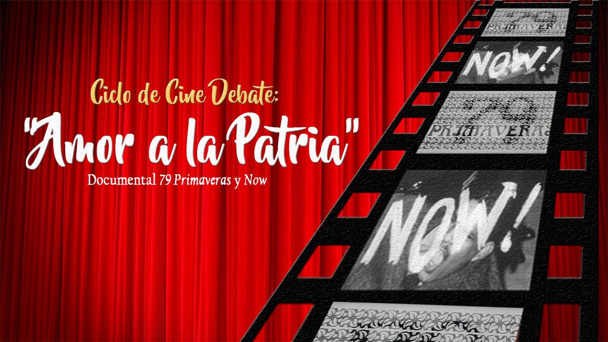 """Comenzó Ciclo de Cine Debate """"Amor a la Patria"""" en la Tesorería de Seguridad Social"""