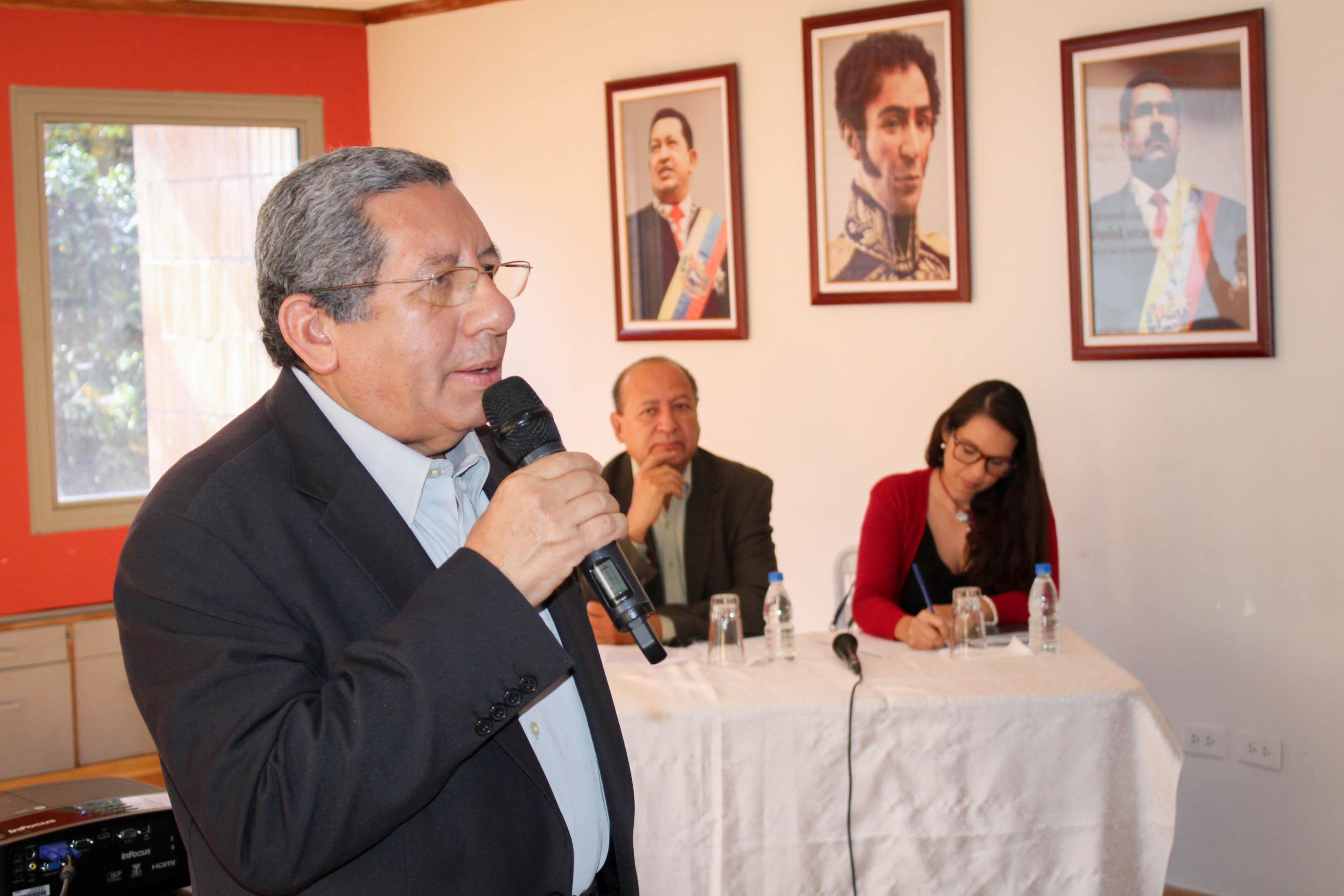 Foro sobre la política exterior de la Revolución Bolivariana se realizó en la Tesorería de Seguridad Social