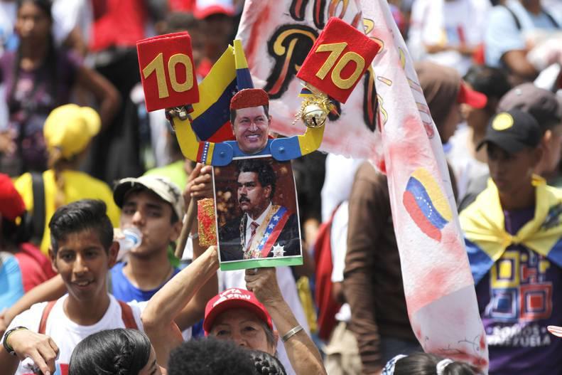 Pueblo venezolano marcha este lunes 06 de agosto en respaldo al presidente Maduro