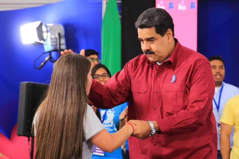 Maduro convocó a la juventud a asumir grandes tareas por la Venezuela Potencia