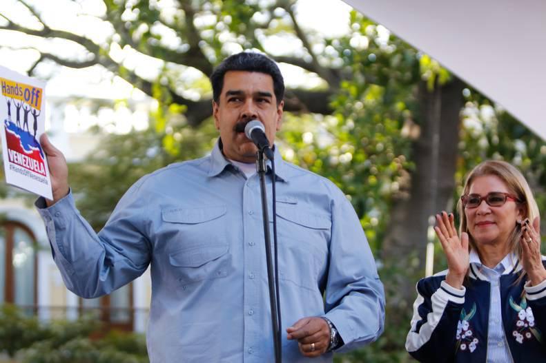 Maduro presentó carta abierta al pueblo de EEUU contra la injerencia de su gobierno