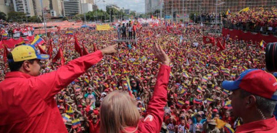 Este sábado 30 de marzo habrá una gran movilización de las fuerzas revolucionarias en Caracas
