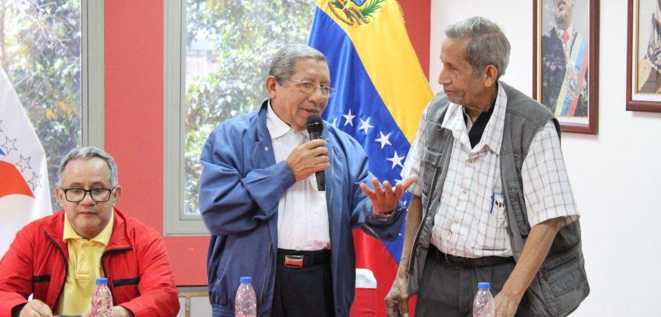 """En la Tesorería de Seguridad Social se realizó el evento """"Guerra imperialista contra Venezuela y el rol histórico de la clase obrera"""""""