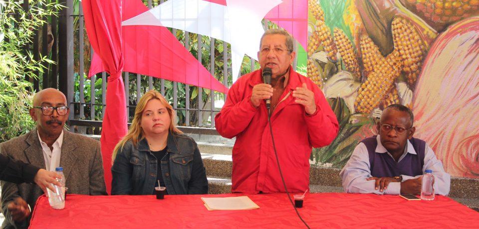 Tesorero del Sistema de Seguridad Social participa en el Encuentro Mundial contra el Imperialismo