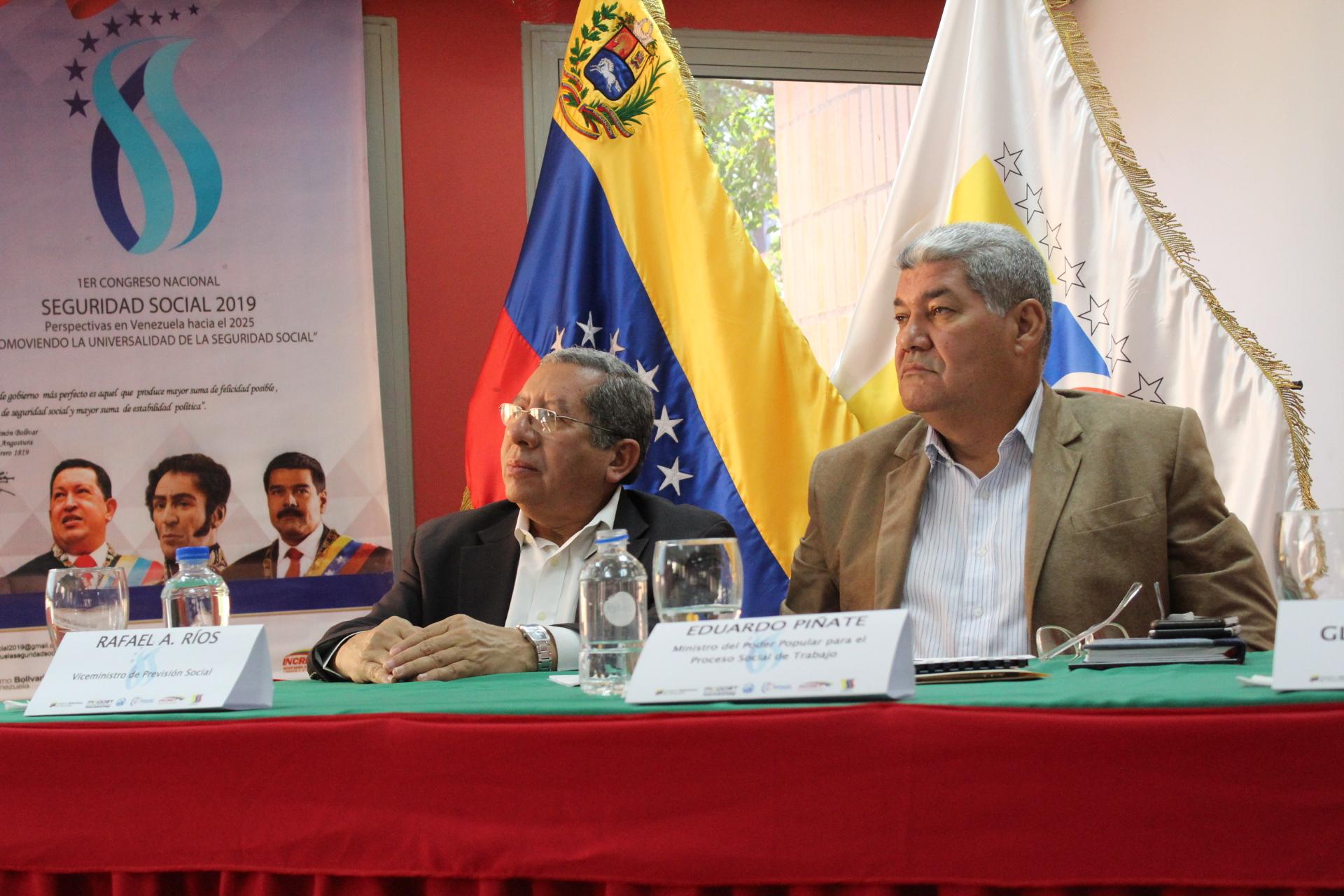 Encuentro de Conferencistas del 1er Congreso Nacional Seguridad Social 2019